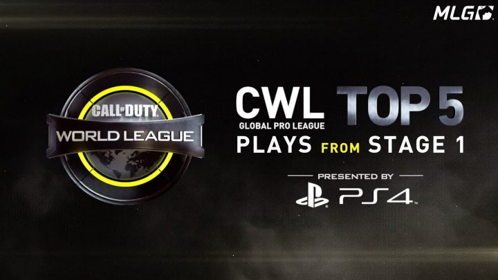 CoD:IW:公式大会「CWL Global Pro League Stage 1」 神プレイTOP5 & ありえない失敗集