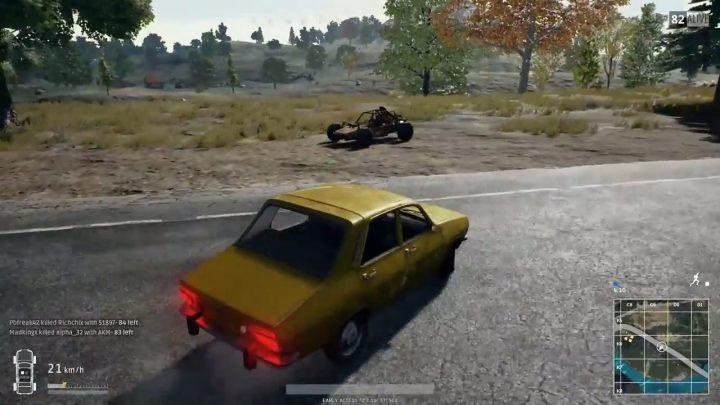PUBG: 車のみで敵を倒しドン勝を食べた猛者登場、銃を持つこと一度もなし