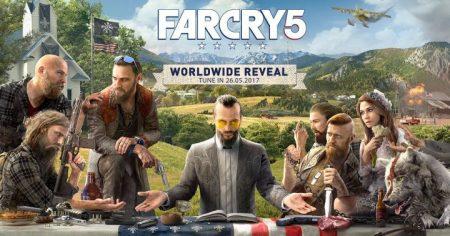 Far Cry 5:新イメージを公開、正式発表は5月29日