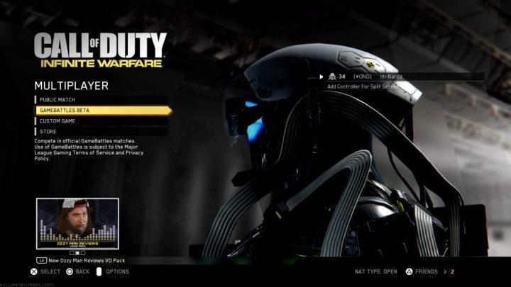 CoD:IW: 対戦プラットフォーム「GameBattles」に対応、ベータを開始