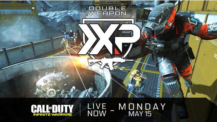 CoD:IW:ダブル武器XP開始、新武器を育てるチャンス