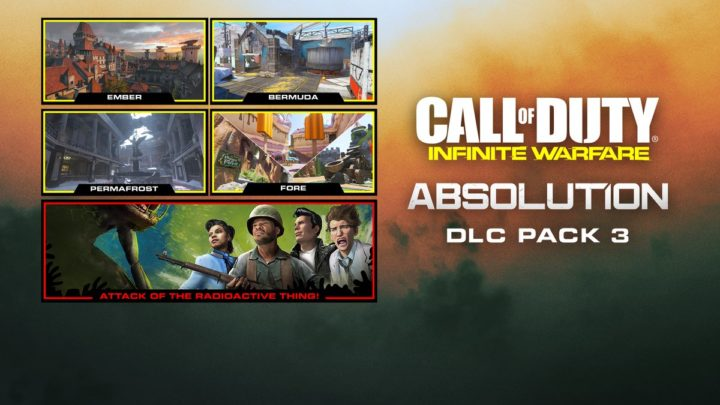 "CoD:IW: 第3弾DLC""Absolution""正式発表  『MW3』の""Resistance""リメイクを含む4つのMPマップと、1950年代のゾンビモードを同梱し7月6日配信"