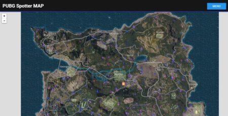 PUBG Spotter MAP