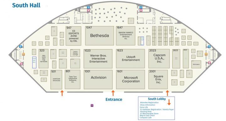 E3フロアマップ