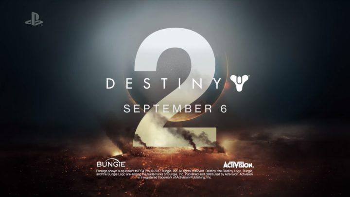 Destiny 2:コンソール版の発売日が9月6日に前倒し