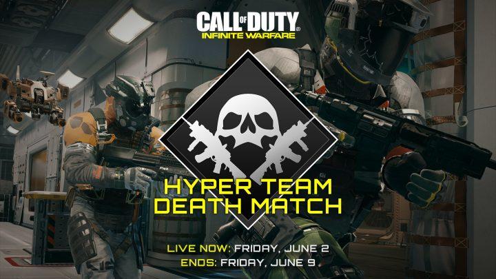 CoD:IW:超高速でペイロードがチャージされるお祭りTDM「Hyper Team Deathmatch」が期間限定で復活