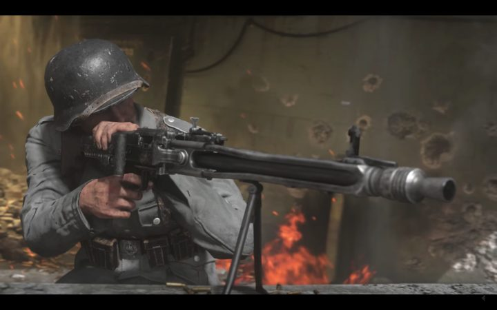 CoD:WWII:「PS4 Proの全てを最大限に活かす」 4K 60fpsの実現なるか?