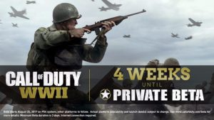CoD:WWII: オープンベータ