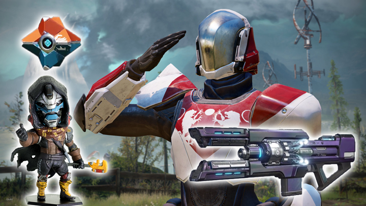Destiny 2: 早期購入特典と店舗予約特典発表、新エキゾチック武器だけでなくケイド6のフュギュアも特典に