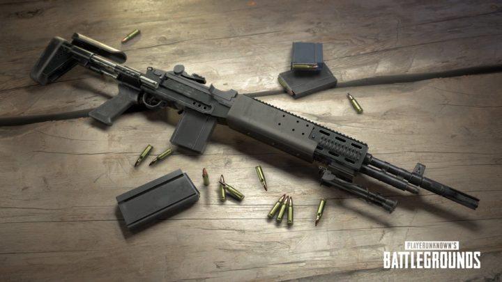 PUBG: 新武器「Mk 14 EBR」を来週にも追加