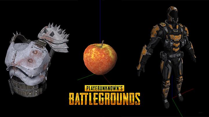 PUBG: 鎧や毒リンゴ、ホットパンツ、宇宙服?など、54種の未発表スキンとアイテム発掘