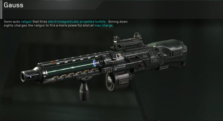 CoD:IW:3種の新武器がリーク、レールガンやリボルバー、3点バーストLMG