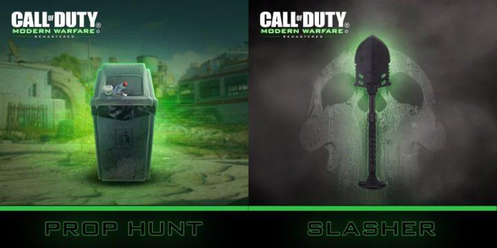 CoD:MWR:「Prop Hunt」か「Slasher」が通常プレイリスト入りへ、現在Twitterで投票受付中