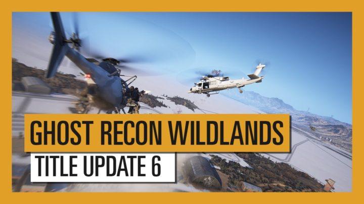 ゴーストリコン ワイルドランズ: タイトルアップデート5配信、ヘリコプターの新操作方法追加など