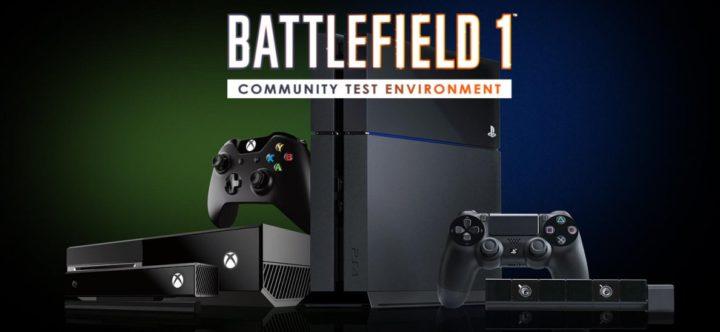 BF1-CTE PS4 Xbox One