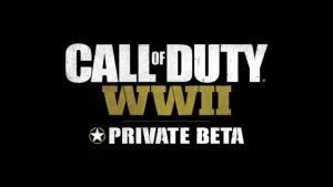 [速報] CoD:WWII:先行ベータが突如前倒し解禁、5つのゲームモードと3つのマップをプレイ可能