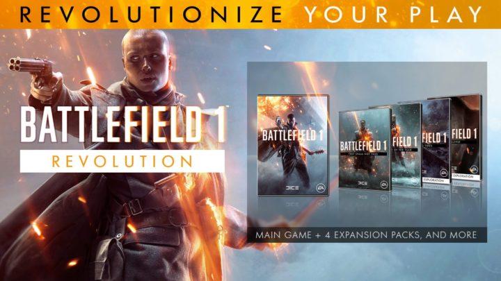全部入りBF1:『バトルフィールド 1  Revolution』の販売開始