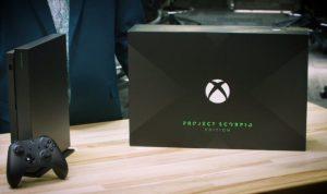 Xbox One Xに「Project Scorpio」限定モデルが54,000円で登場、海外で予約販売開始
