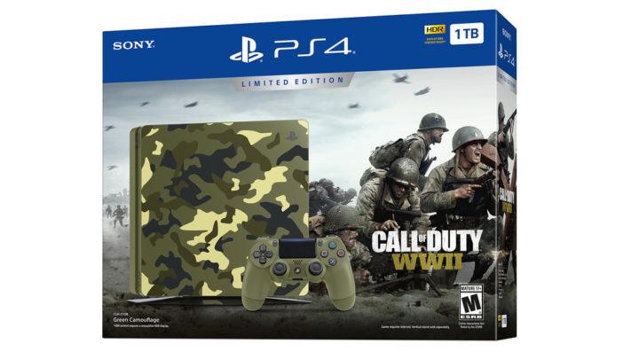 CoD:WWII:数量限定の「PlayStation 4 コールオブデューティワールドウォーII リミテッドエディション」が国内発売決定、9月20日予約開始で価格は39,980円