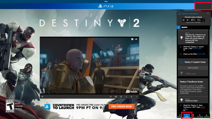 Destiny 2: 無料ダイナミックテーマとケイド6とホーソンのアバターの入手方法解説、(北米PSNアカウント必須)