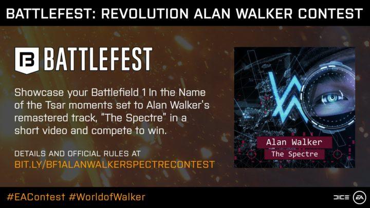 BF1: 鬼才アレン・ウォーカー氏の楽曲をBGMにした動画コンテスト開催、豪華賞品もおま国