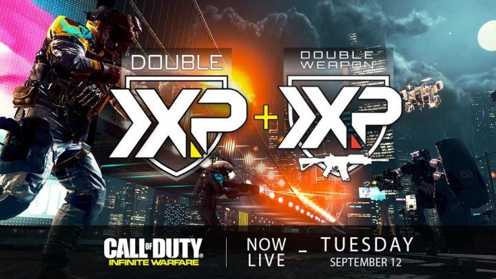 CoD:IW:ダブルXPとダブル武器XP同時開催中、9月13日まで