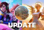 オーバーウォッチ: D.Vaとマーシーの大幅変更や新マップ「ジャンカータウン」追加などを行うアップデートが配信(PC)