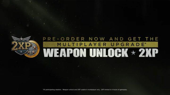 CoD:WWII:予約特典に永久アンロックトークンと4時間のダブルXP登場、最新トレーラーで新武器3種も確認