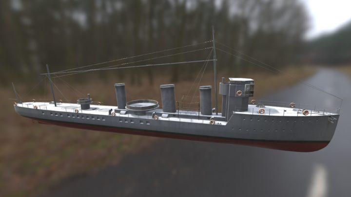 L級駆逐艦?