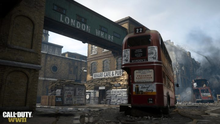 CODWWII ロンドンマップ