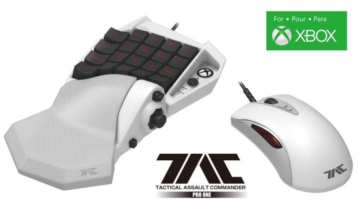 Xbox One公式ライセンス:FPSのためのキーボード&マウスがHORIから登場