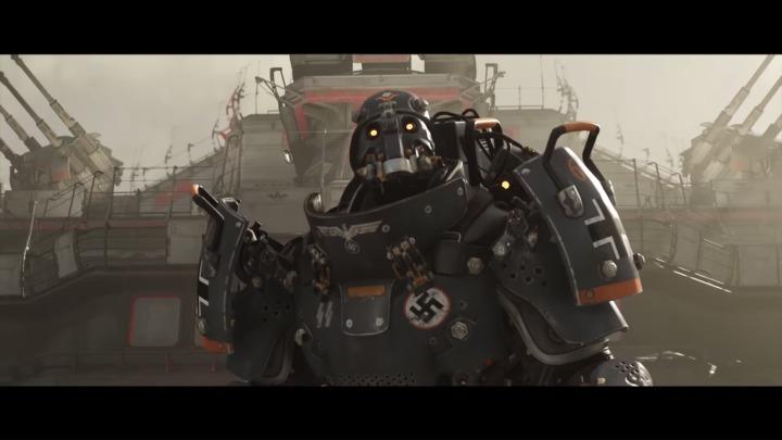 打倒ナチスFPS『WolfensteinII: The New Colossus』日本語版ローンチトレーラー公開、あのヒットラーの姿も