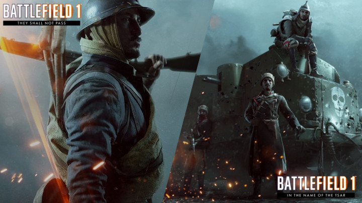 BF1: 拡張パック第1弾「They Shall Not Pass」と第2弾「In the Name of the Tsar」のフリートライアル開催中