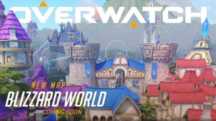 オーバーウォッチ: 新マップ「Blizzard World」発表、テーマパークのようなハイブリッドマップ