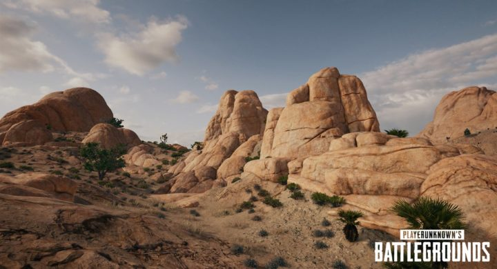 PUBG: 新マップ「砂漠」
