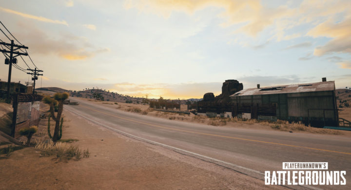 PUBG 砂漠 1