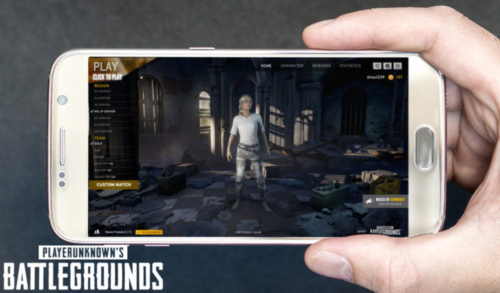 PUBG: スマートフォン版『PLAYERUNKNOWN'S BATTLEGROUNDS』正式発表