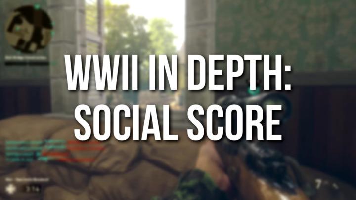 CoD:WWII:サプライドロップの中身が良くなる「ソーシャルスコア」の影響はどのくらい?100個開封でテスト[追記]