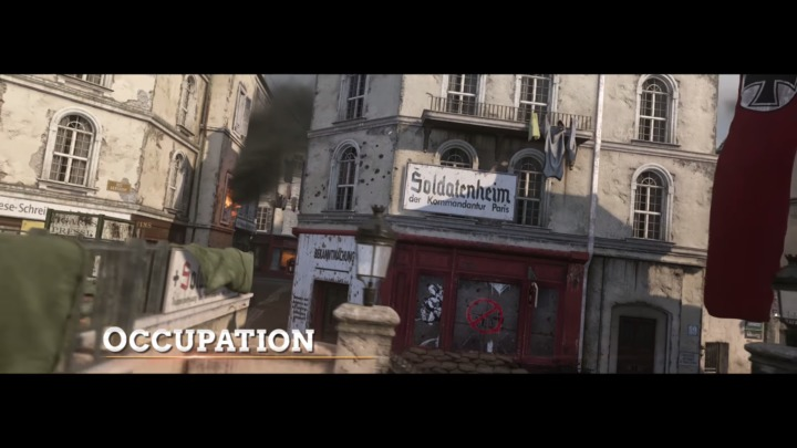 COD:WWII The Resistance フランス抵抗軍 Occupation