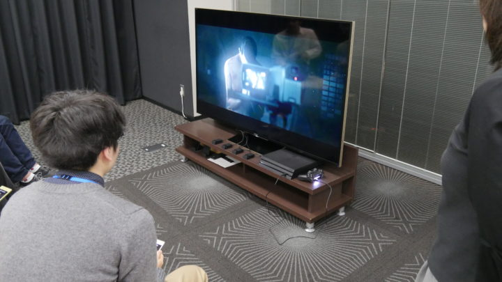 playStation 4・PlayStation VR体験会 Hidden agenda