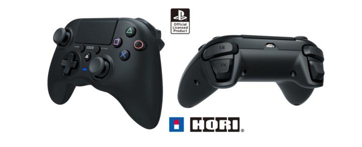 欧州SIEがHORI製公式ライセンスのPS4用コントローラー「Onyx wireless controller」発表、Xbox One風コントローラー