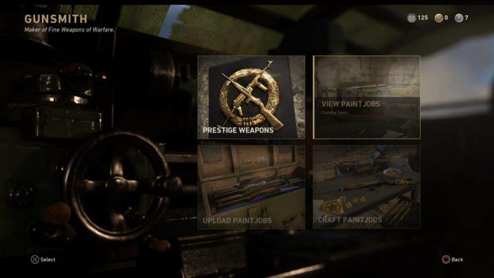 CoD:WWII: エンブレムギャラリーとペイントジョブ、イベント「レジスタンス」で追加?