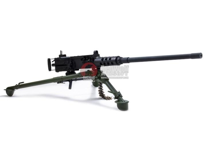 総額55万円:鋼鉄素材の実物大電動ガン「ブローニングM2重機関銃」予約販売開始