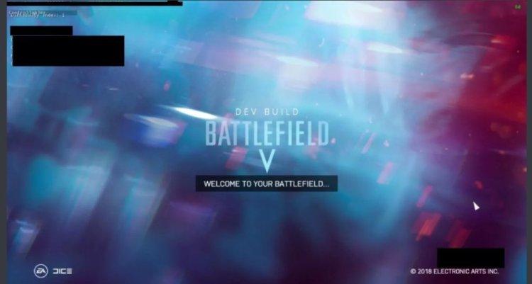[噂] BFV:BF 2018の名称は『Battlefield V』で舞台は第二次世界大戦、ゲーム内画面がリーク?