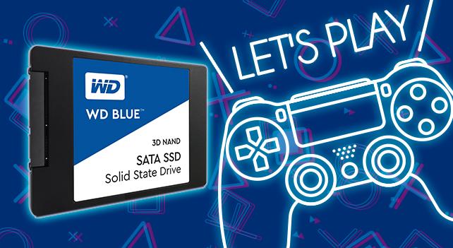 レビュアー無料プレゼント:PS4を大容量&高速化する「WD Blue 3D NAND SATA SSD」(5名)