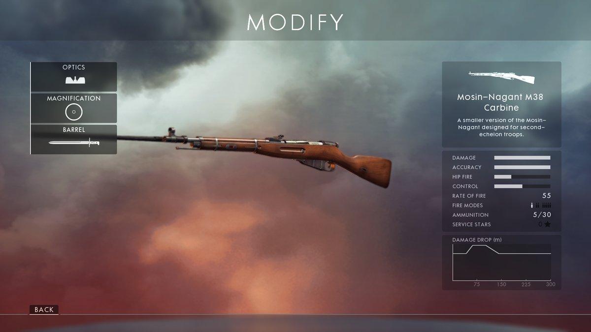 BFV-BF5-Mosin-Nagant-M38-Carbine