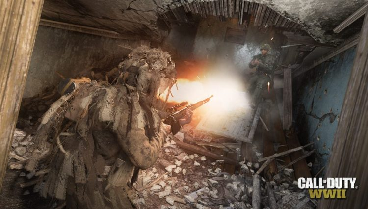 CoD:WWII:グラウンドウォーが常設モードとして5月17日に復活、スナイパーのみの新モード「One Shot 」も