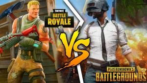 PUBG_vs_Fortnite バブジーvsフォートナイト