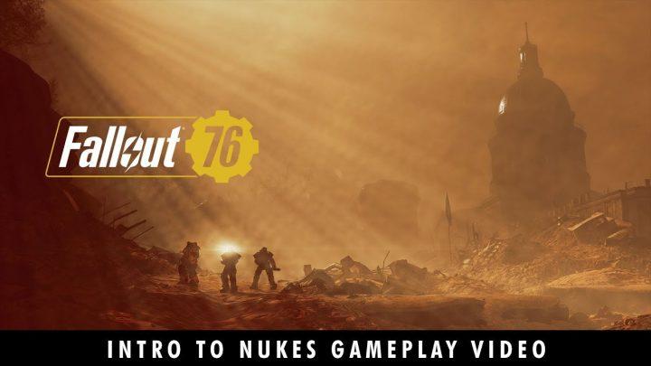 Fallout 76:核ミサイル発射と建築要素を紹介する新トレーラー2本公開、創造と破壊のゲームプレイ