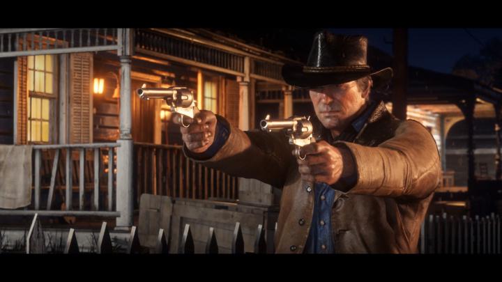 レッド・デッド・リデンプション2 二丁拳銃